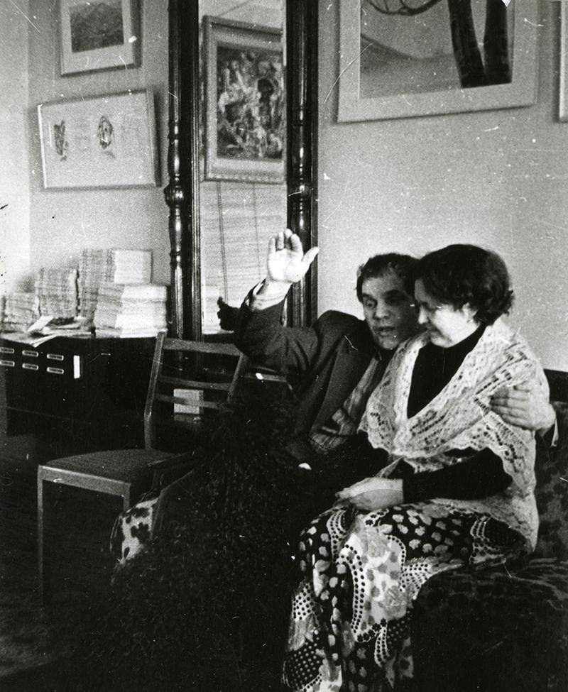 Алексей Казанцев с женой Ниной Павловной Казанцевой